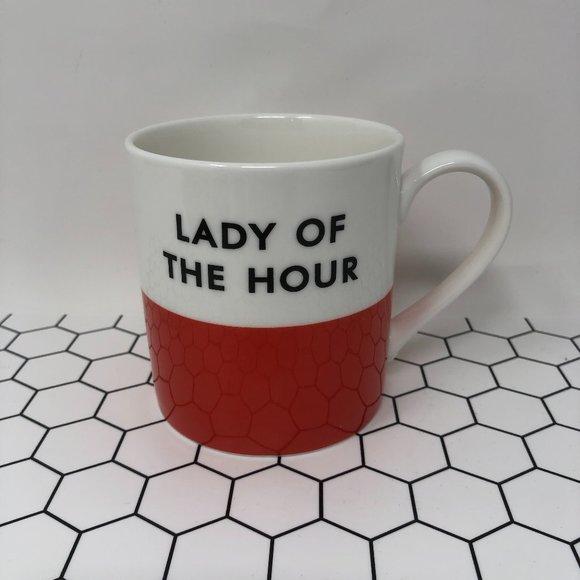Kate Spade Chic Speak Lady of the Hour Coffee Mug
